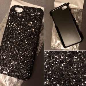 NWT IPhone 📱 7 Black Sparkly Phone Cover